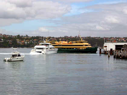 THE SLOW AND FAST FERRIES TAKE YOU TO SYDNEY