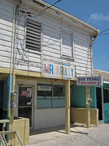 Mr. Krazy's Medical Laboratory. Belize
