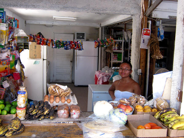 A small sundry shop. Belize
