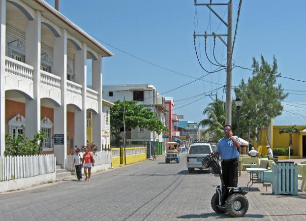 Ambergris is modern, clean and more populated than Placencia. Belize