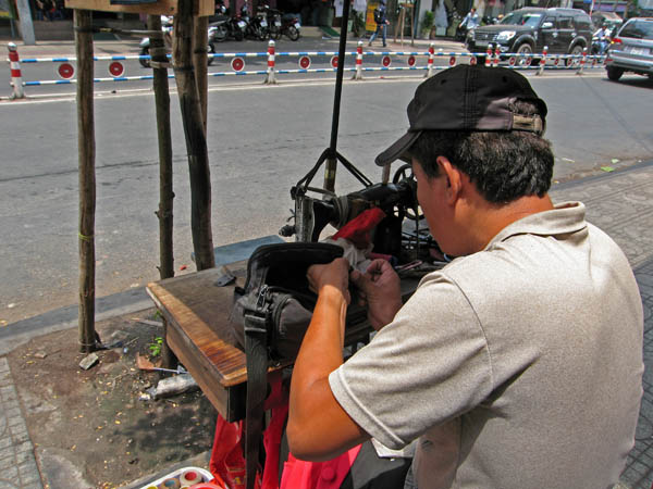 The Man works his magic on the streets of Saigon