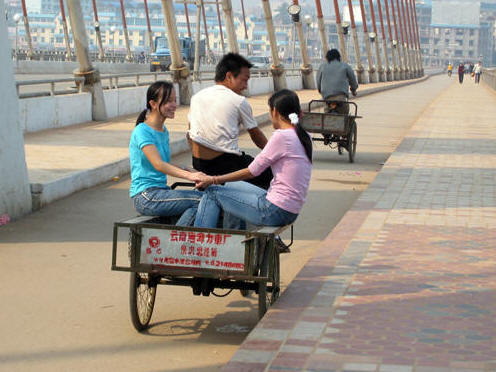 TYPICAL TRANSPORTATION IN JINGHONG