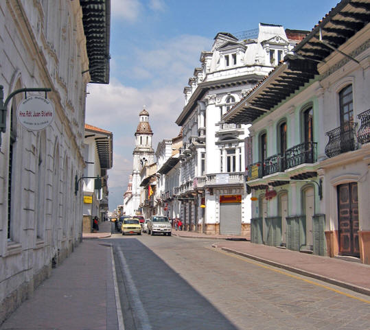 THE CLEAN CITY OF CUENCA