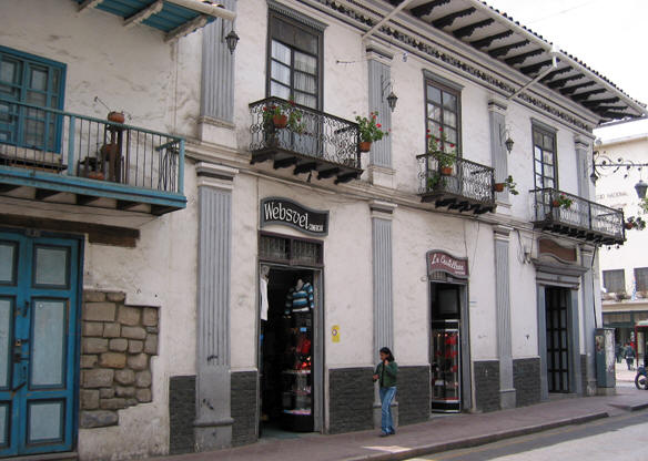 CUENCA'S FAMOUS COLONIAL ARCHITECTURE