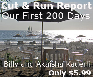 Cut and Run Report. Our First 200 Days of Retirement