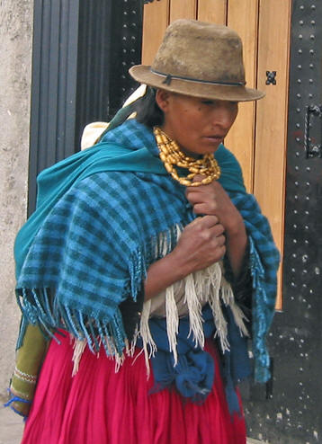 BEAUTY IN LOCAL COSTUME