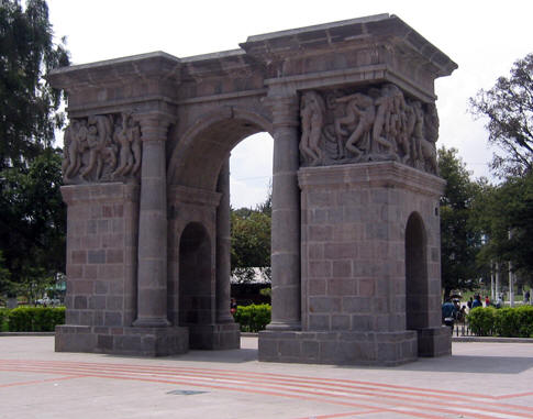 ONE OF THE ENTRANCES TO EJIDO PARQUE