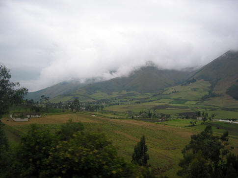 HIGH IN THE ANDES IN NORTHERN ECUADOR