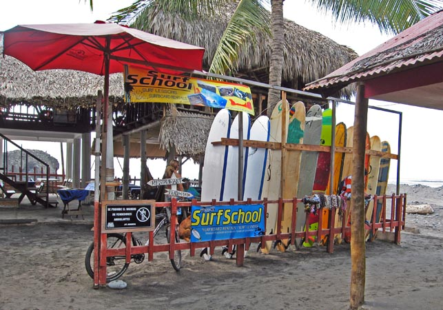 Here's a surf school!