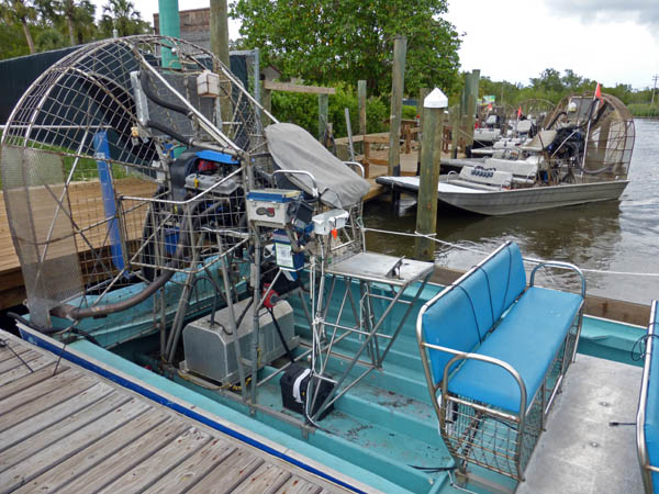 A closer look at the airboats