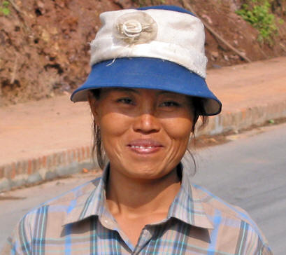 Another Laotian face