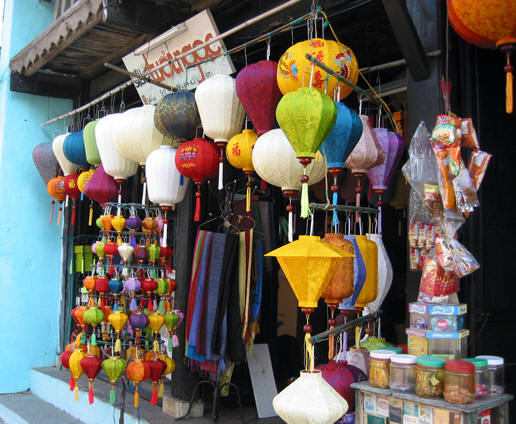 HANDMADE SILK AND BAMBOO LANTERNS