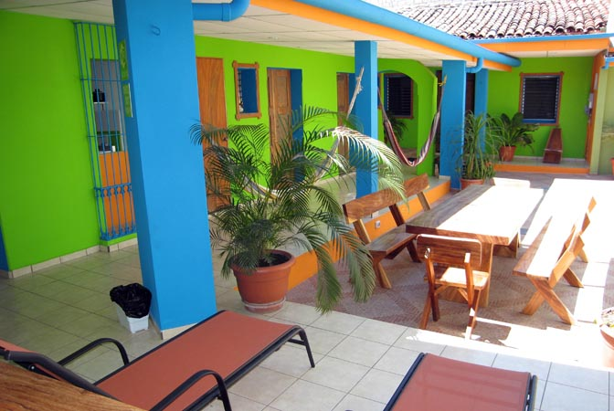 Very clean, well organized hostal