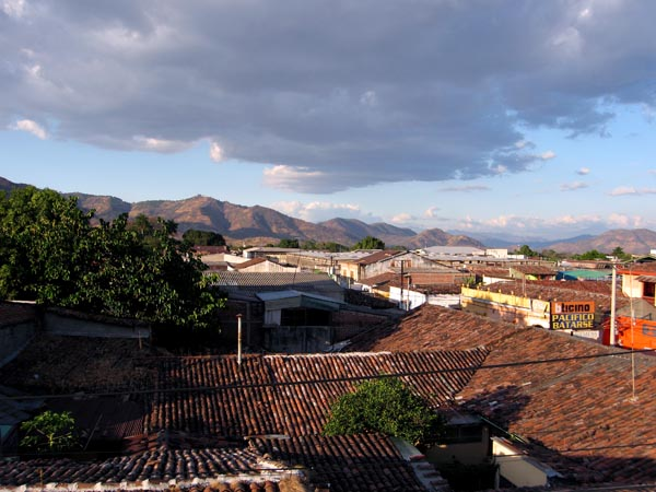 Roof top view of Santa Ana