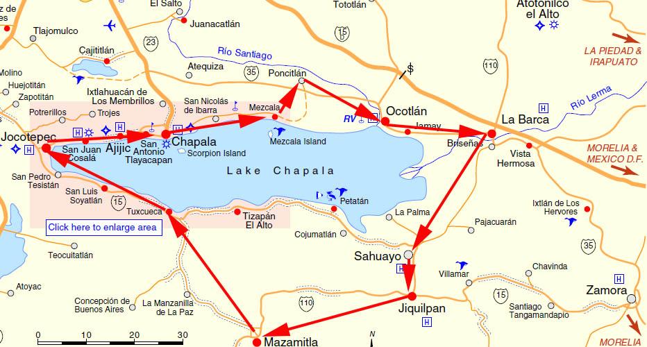 Lake chapala retirement