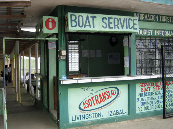 Boat service schedule in Livingston
