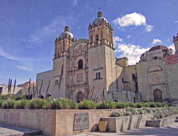 Centuries Old Santo Domingo Cathedral, Oaxaca