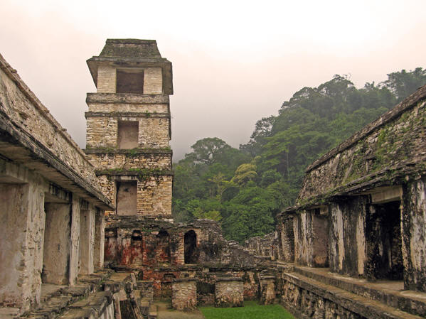 The ruins were compact and much could be seen with little walking