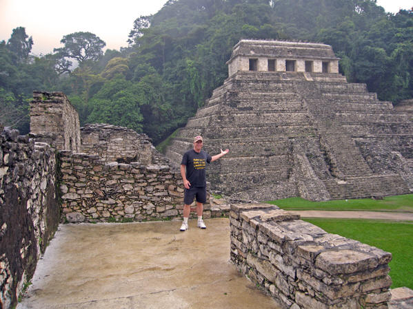 As with most Maya ruin sites, we are allowed to walk everywhere