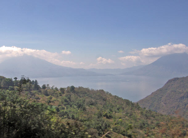 Our first look at Lake Atitlan