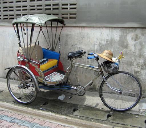 JAK-KA-YAN, A COMMON FORM OF TRANSPORTATION IN ASIA