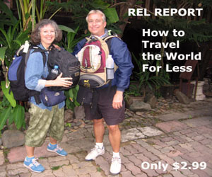 How to travel the world for less report