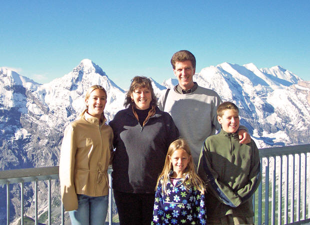 Family fun in the Swiss Alps