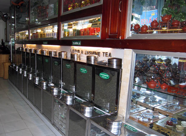 Most Vietnamese drink tea, but more and more are drinking coffee