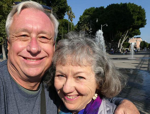 Billy and Akaisha Kaderli in Puebla, Mexico