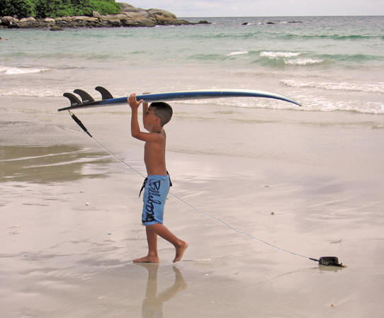 Never too young to learn how to surf. Kata Beach, Thailand