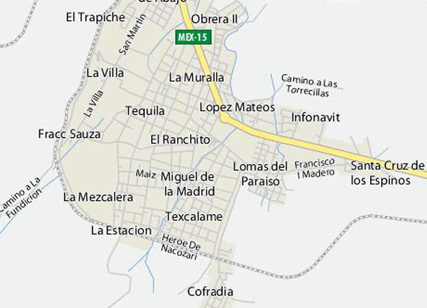 The very walkable town of Tequila with close by neighborhoods and tequila haciendas