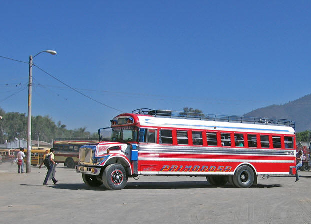 A typical day at Antigua bus station
