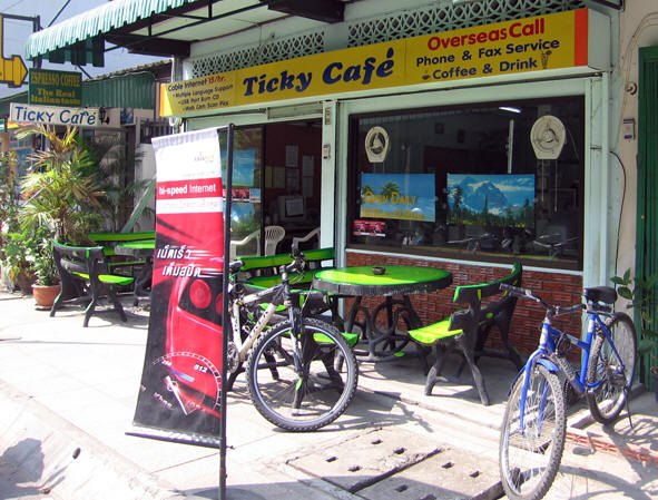 TICKY CAFE IS OPEN DAILY